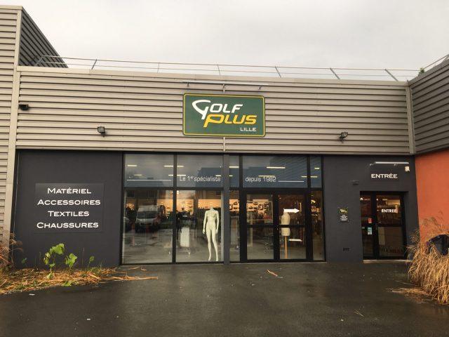 Aménagement du nouveau magasin Golf Plus