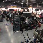 Aménagement du nouveau magasin Golf Plus Lille